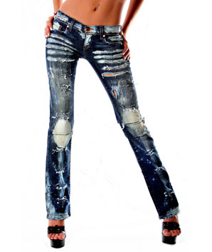 Destroyed Jeans | Distressed Jeans | Ripped Jeans