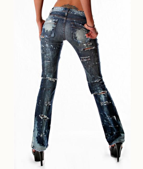 Original Dark Blue Boot Cut Jeans